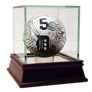 Hank Greenberg Charles Fazzino Hand Painted Baseball