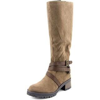 Fergalicious Rita Round Toe Synthetic Knee High Boot