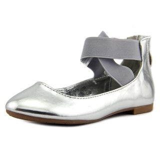 Bella Marie Stacy-29 Round Toe Leather Flats