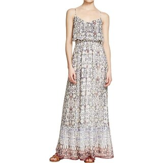 Joie Womens Maxi Dress Silk Pullover