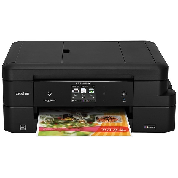 Brother Mfc-J985dw Work Smart All-In-One Inkjet Printer W/ Inkvestment Cartridges