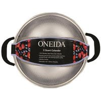 Oneida 57150 Colander Stainless Steel, 3 Quart