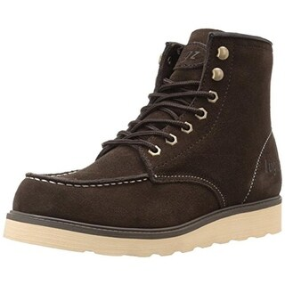 Lugz Mens Prospect Thinsulate Memory Foam Ankle Boots - 12 medium (d)
