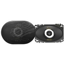 4 x 6 Inches 120-Watt 2-Way Coaxial Speaker, Set of 2