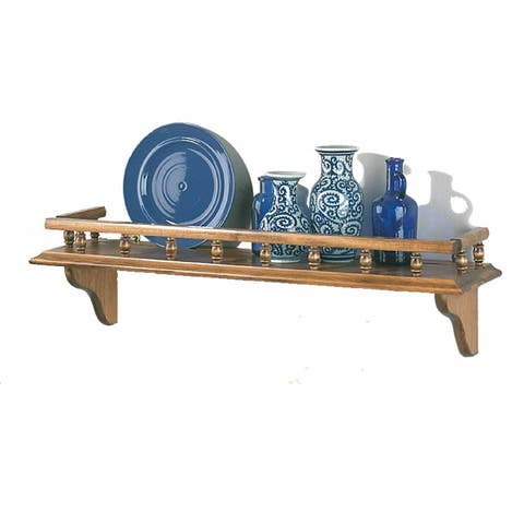 Kitchen Shelves Antique Pine Captain's Shelf 28 W