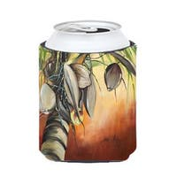 Orange Coconut Tree Can & Bottle Hugger