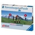 Ravensburger Swiss Flag Wavers 1000 Piece Puzzle - Thumbnail 0