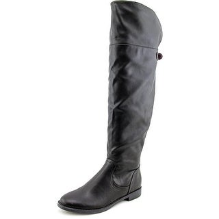 Pink & Pepper Zolly Round Toe Synthetic Over the Knee Boot