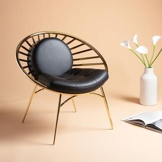 "Safavieh Couture Nina Hoop Chair - 29.5""x24.4""x29.1"""