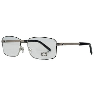 Montblanc MB0481/V 016 Silver Rectangular Opticals