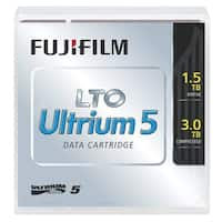 Fuji 16008030 Fujifilm 16008030 LTO Ultrium 5 Data Cartridge - LTO-5 - 1.50 TB (Native) / 3 TB (Compressed)