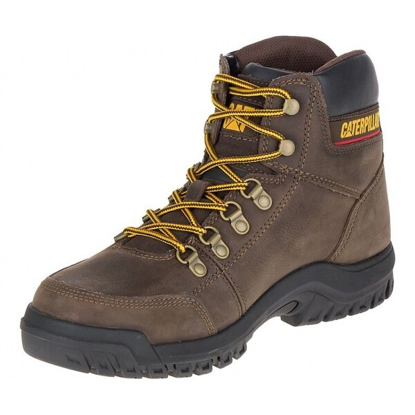 a43fec7005b Cat P90803-7W Men's Outline Slip Resistant Steel Toe Work Boot, Wide, Size 7