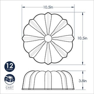 Link to Nordic Ware Pro Cast Original Bundt Pan, 12 Cup Similar Items in Bakeware
