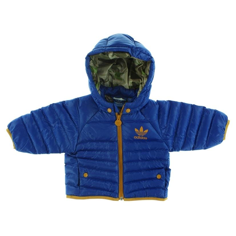 Adidas Baby Boys Toddlers Snow Jacket Royal Blue - royal blue/tan (9 months) thumbnail