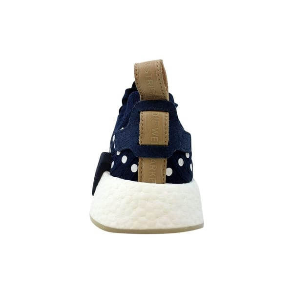 new product 1541d f2c6f Shop Adidas NMD R2 Primeknit W Navy Blue/White BA7560 ...