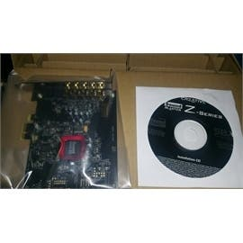 Creative Sound Card 30SB150200000 Sound Blaster Z with Sound Card and CD ROM Only Bulk