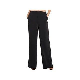 Rachel Rachel Roy Womens Wide Leg Pants Flat Front Pull On