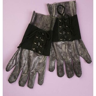 Knight Costume Gloves - Silver