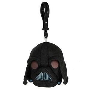Angry Birds Star Wars Plush Backback Clip On: Darth Vader - multi