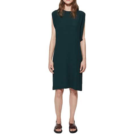 Marni Green Crepe Tunic Dress Size 42