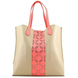 Urban Originals Take The Leap Women Synthetic Tan Tote - Beige