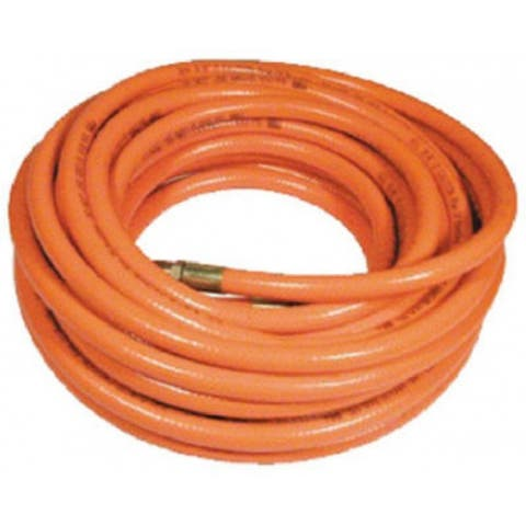 "Amflo 576-25A PVC Air Hose, Day Glow Orange, 3/8"" x 25'"