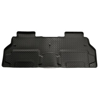 Husky Classic 2009-2016 Chevrolet Traverse 2nd Row Bucket Black Rear Floor Mats/Liners