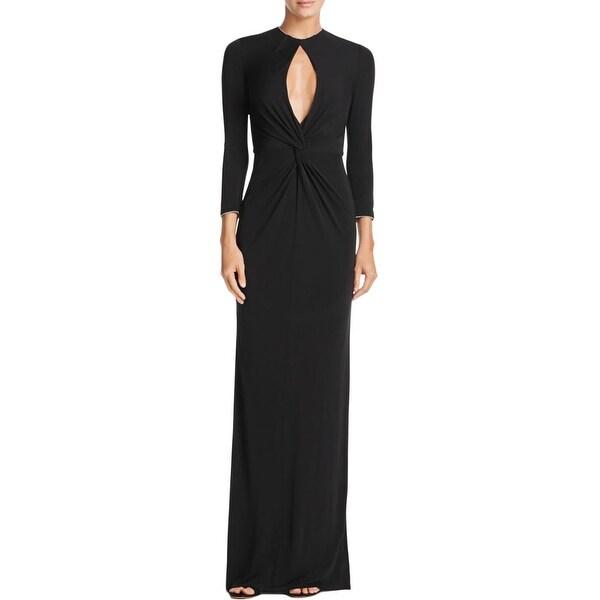 Shop Abs By Allen Schwartz Womens Formal Dress Keyhole Special
