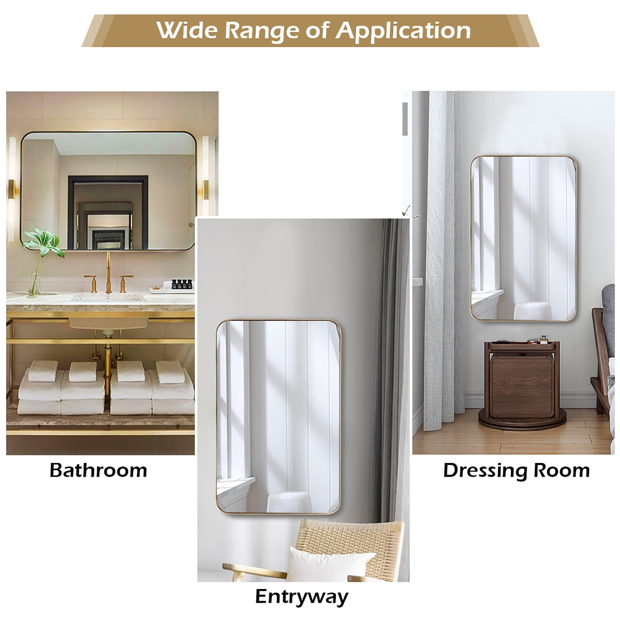 20 X 32 Inch Bathroom Wall Mirror Rectangular Wall Hanging Mirror On Sale Overstock 31937480