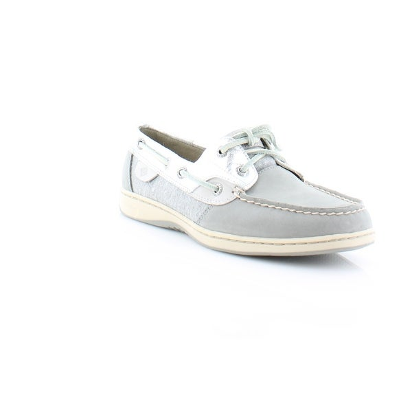 Sperry Top-Sider Bluefish Women's Flats & Oxfords Metallic Grey