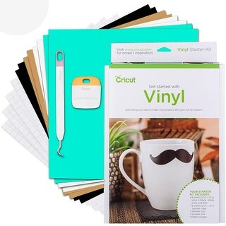 Cricut Explore Vinyl Starter Kit - Vinyl Transfer Paper Weeder And Scraper Tool
