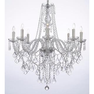 Link to Crystal Chandelier Lighting 8 Light Fixture Similar Items in Chandeliers