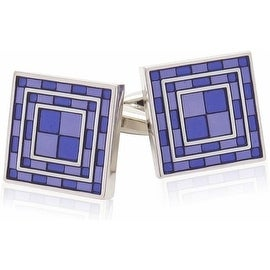 Purple Tiles Cufflinks