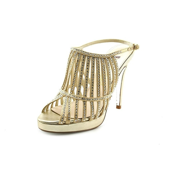 E! Live From The Red Carpet Womens E0046 Peep Toe Special Occasion Ankle Stra...
