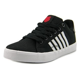 K-Swiss Belmont Youth Round Toe Synthetic Black Sneakers
