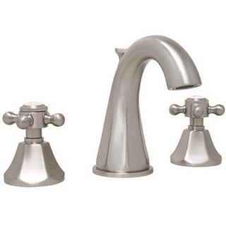 Mirabelle MIRWSCBR801 Boca Raton 1.2 GPM Widespread Bathroom Faucet with Cross Handles