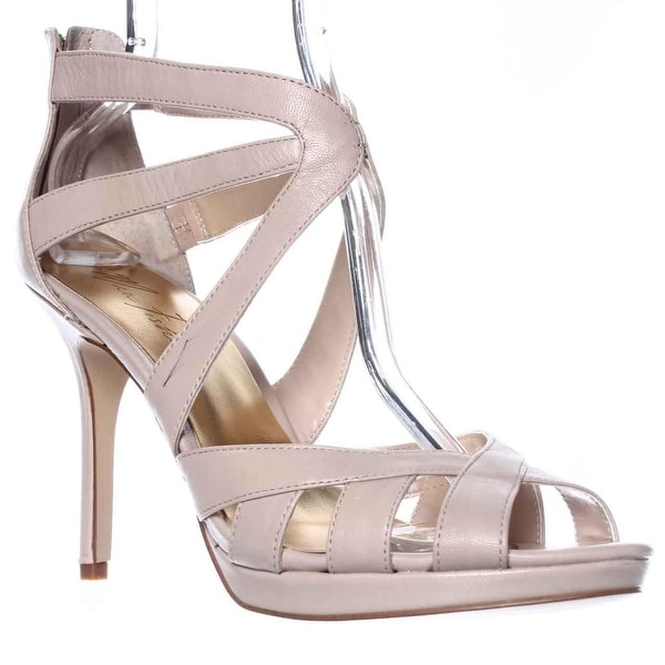 Marc Fisher Ziro Dress Sandals, Light Natural - 10 us