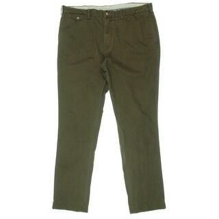 Polo Ralph Lauren Mens Twill Slim Fit Chino Pants - 38/32