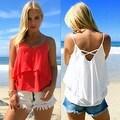 2016 New Sexy Women Summer Casual Sleeveless Blouse Tank Tops Shirt T-Shirt - Thumbnail 5