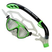Snorkel Master Snorkeling Kids Mask & Semi-Dry Snorkel Combo