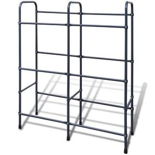vidaXL Steel Shelf for 6 Crates