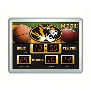 Evergreen Enterprises EG0127622 Missouri Tigers Scoreboard Wall Clock