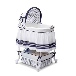 Link to Delta Children Smooth Glide Bassinet, Marina Similar Items in Bassinets & Cradles