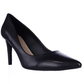 Tahari Brice Pointed Toe Classic Dress Pumps - Black