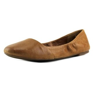 Lucky Brand Emeralda Women Round Toe Leather Ballet Flats