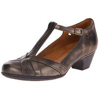 Cobb Hill Womens angelina Leather Closed Toe Ankle Wrap Classic Pumps