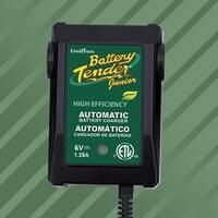 Battery Tender 022-0196 Junior High Efficiency Battery Charger, 6 Volt