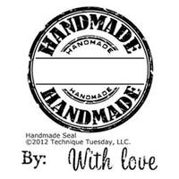"""Handmade Seal - Technique Tuesday Clear Stamps 2""""X2.5"""""""