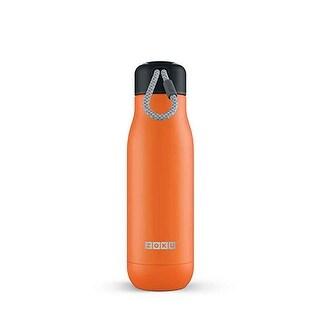 Zoku Stainless Bottle - 18Oz - Orange - OKU-21408
