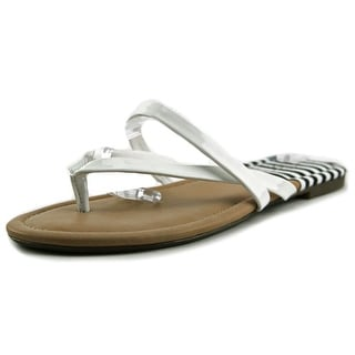 Jessica Simpson Rorie Open Toe Synthetic Thong Sandal